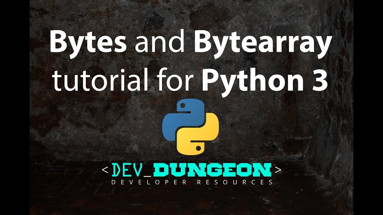 Working with Binary Data in Python | DevDungeon