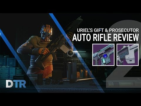 Destiny 2: Uriel's Gift & Prosecutor Review | Best Auto Rifles In Game