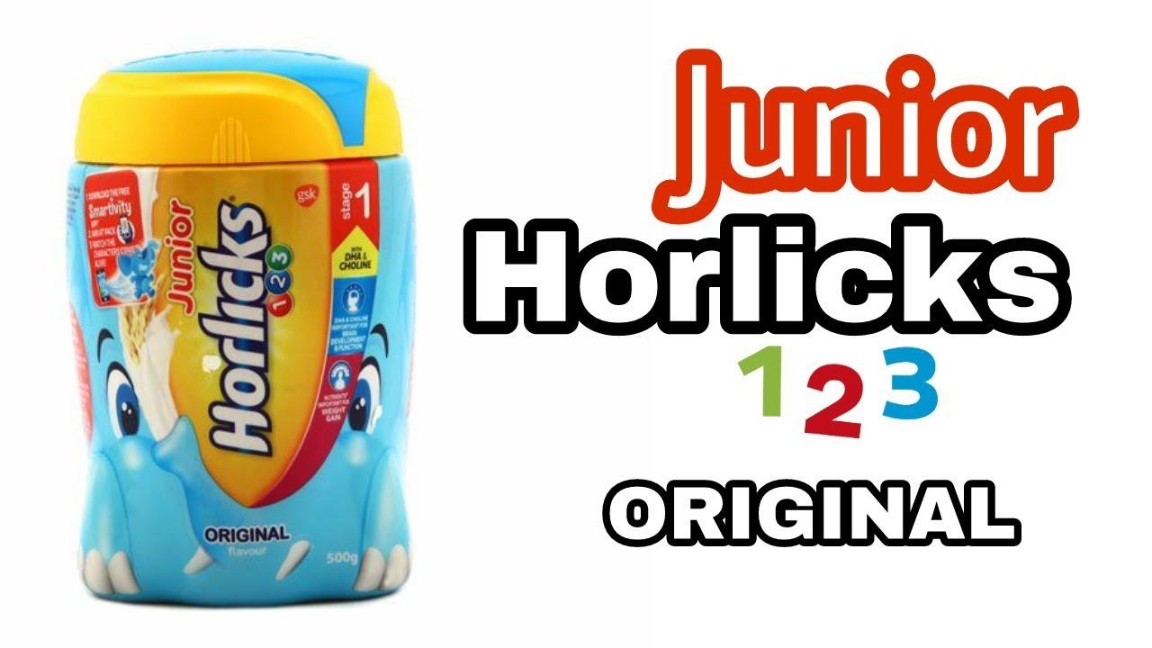 Junior Horlicks Stage 1 1 3 Years Health Nutrition Drink 500 G Jar Original Flavor Youtube
