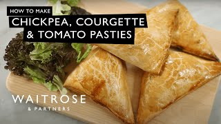 Courgette, Chickpea And Tomato Pasties | Waitrose