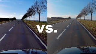 Apeman 4k (A80) Modell 2017 vs. 2018 // AUDIO + VIDEO FOOTAGE Vergleich // Actioncam // DEUTSCH
