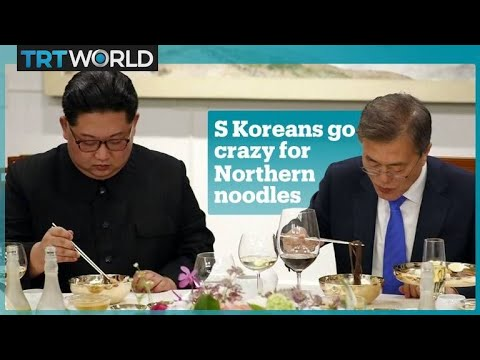 The Korean summit sparks noodle cravings in Seoul