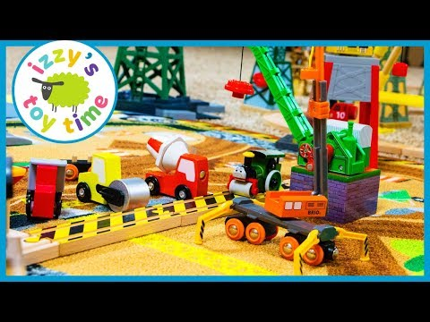 Thomas and Friends Brio CONSTRUCTION TRACK! Fun Toy Trains for Kids