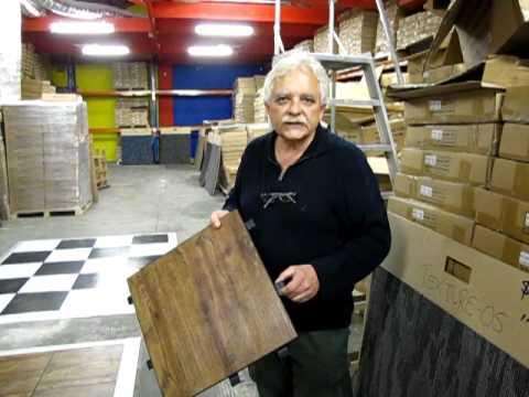 Carpet Tiles 1 Wood Look Alike