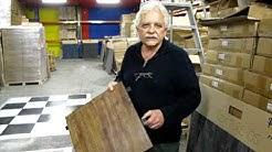 Carpet Tiles 1 - Wood look alike Portable Flooring