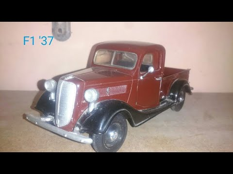 Review Ford pick up 1937 1:24
