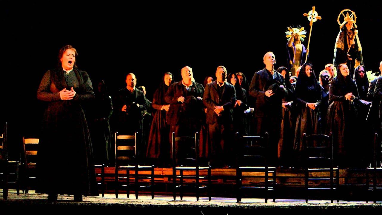 """Cavalleria Rusticana: """"Ineggiamo"""" (Chorus)"""