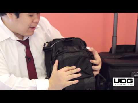 UDG Ultimate SlingBag Trolley Set DeLuxe Black