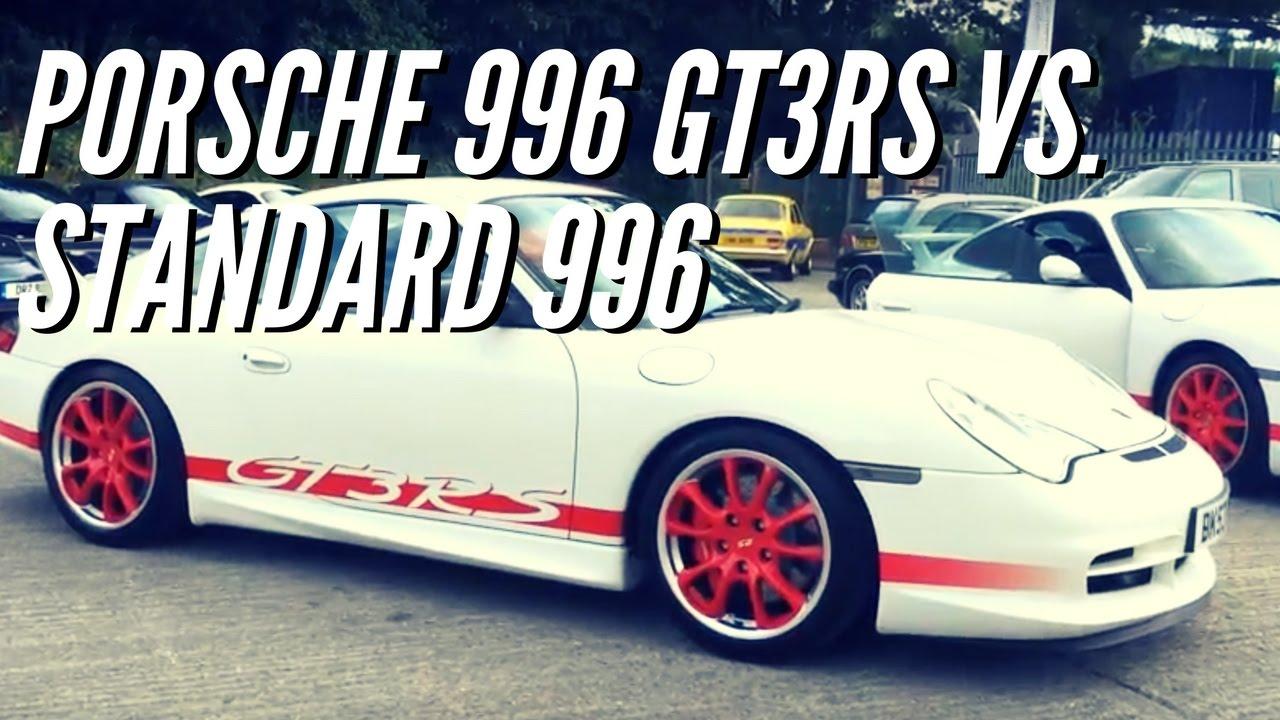 Porsche 996 Gt3rs Vs Standard Porsche 996