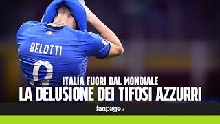 """Italia-Svezia, i tifosi delusi: """"E' vergognoso. Tutti a casa, a cominciare da Tavecchio e Ventura"""""""