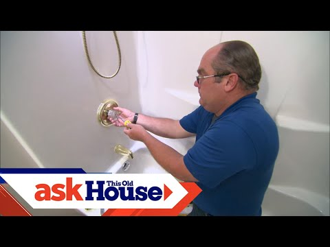 How to Replace a Clogged Shower Valve | Ask This Old House