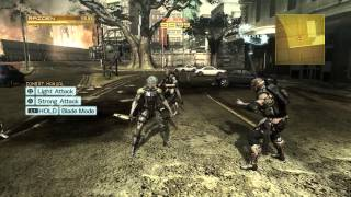 Metal Gear Rising, How To Parry.
