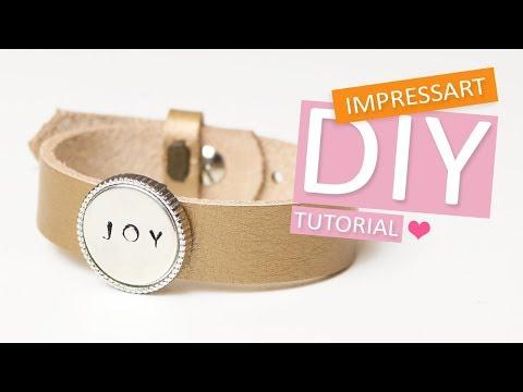 ImpressArt | Stempelen op cabochons van DQ metaal DIY Tutorial