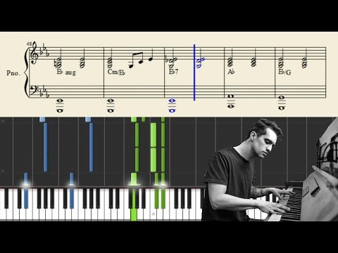 Panic At The Disco: Impossible Year Piano Accompaniment - Tutorial + Sheets
