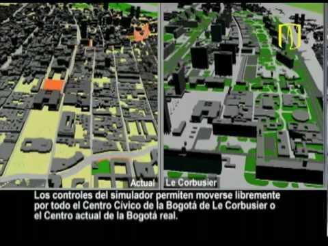 Uniandes le corbusier el simulador que hace posible for Bares en ciudad jardin