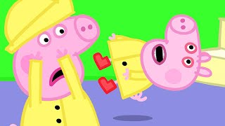 Peppa Pig Official Channel | Oh No, George Pig's Boo Boo Moment | George Catches a Cold