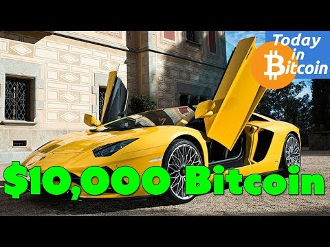 Today in Bitcoin (2017-08-07) - Bitcoin $3,400, could it go to $10K?