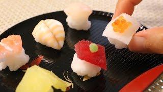 Kracie Arrange Temari Sushi ~知育菓子アレンジ 手まり寿司