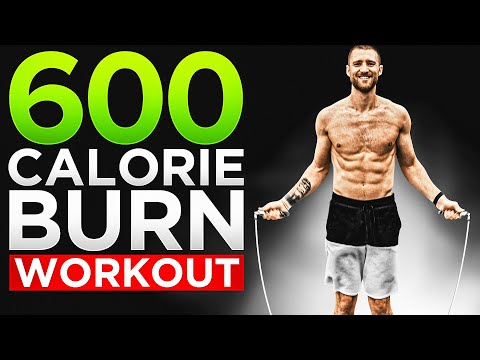 600 Calorie Burn At Home Jump Rope Workout