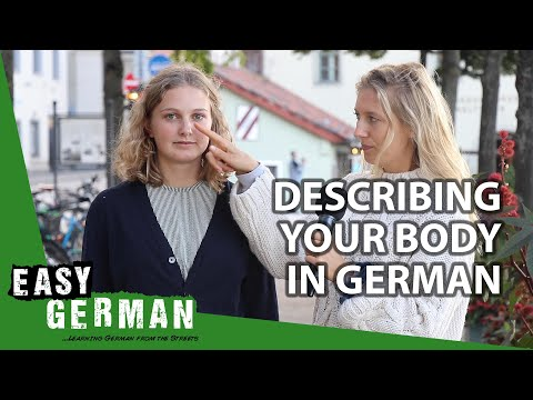 How To Describe Your Body In German | Super Easy German (117)