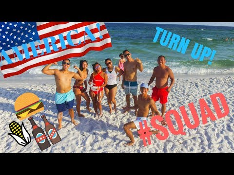 FOURTH OF JULY IN PENSACOLA BEACH '17 DRONE