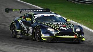 Aston Martin V12 Vantage GT3 Sound - Accelerations & Fly Bys!!