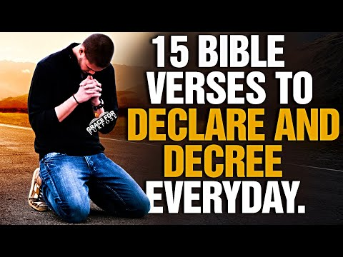 God's Bible Promises To Decree and Declare Over Your Life