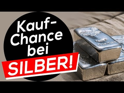 Kauf-Chance bei Silber!