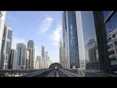 Financial Centre Metro Station - Dubai City