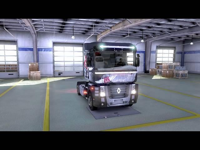 Euro Truck Simulator 2 Trucks