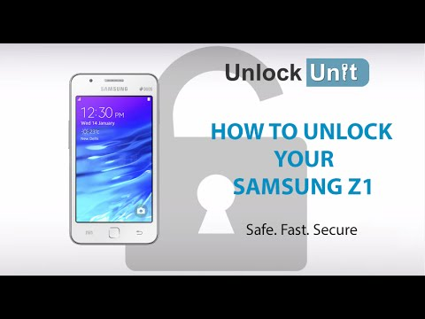 HOW TO UNLOCK YOUR SAMSUNG Z1
