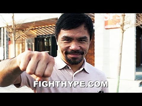 "PACQUIAO ASKS FANS WHO HE SHOULD FIGHT NEXT; MISSES TRAINING AND ""CAN'T WAIT TO BE BACK SOON"""