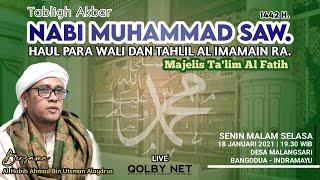 Download lagu LIVE Maulid Akbar Nabi Muhammad SAW. 1442 H. | Haul Para Wali & Tahlil Imamain RA. | MT. AL FATIH