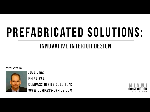 Prefabricated Solutions:Innovative Interior Design