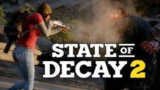 State of Decay 2 - БРЕЙН И ДАША ВЫЖИВАЮТ! ГОРОД ЗОМБИ!