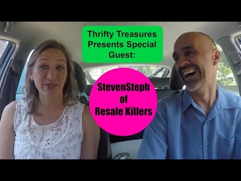 StevenSteph Resale Killers Special Guest of Thrifty Treasures