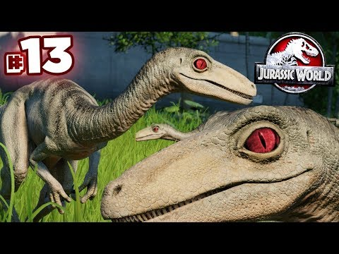 TROODON, TROODON, TROODON!!! - Jurassic World Evolution - JURASSIC MODE | Ep13 HD