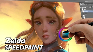 Princess Zelda - Breath of the wild  (speedpaint)