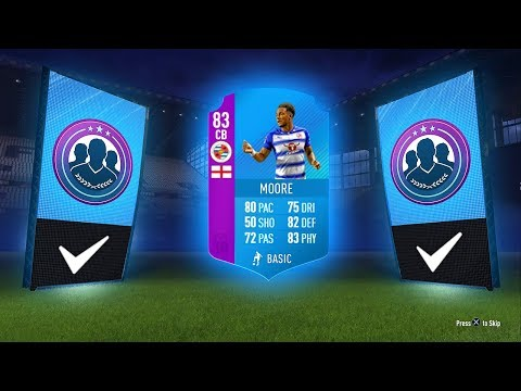 INSANE WALKOUT! - 83 CB MOORE SBC! - FIFA 18 Ultimate Team