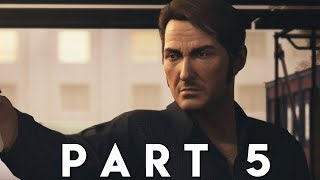 A WAY OUT Walkthrough Gameplay Part 5 - THE BOAT (PS4 Pro)