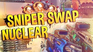 SNIPER SWAP NUCLEAR! - SWAPPING FOR EVERY KILL... | Black Ops 3 PC