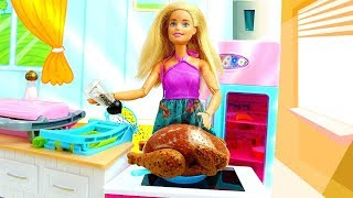 Барби готовится к свиданию с Кеном. Видео с куклами - Мультики для девочек