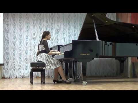 Гребнева Анастасия - вариации на тему русской народной песни Ах, Утушка моя луговая