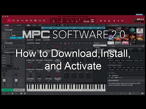 Akai Pro Software Download : akai pro mpc software 2 0 how to download install and activate youtube ~ Hamham.info Haus und Dekorationen