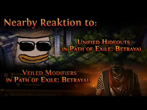 [Path of Exile] Unified Hideouts & Unveiled Item Mods in 3.5 Betrayal