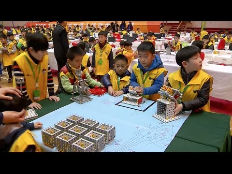 2017 World Educational Robot Contest Kicks Off In Shanghai Youtube