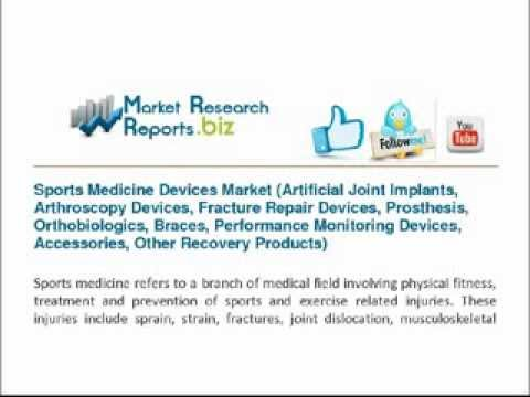 Sports Medicine Devices Market Artificial Joint Implants, Arthroscopy Devices