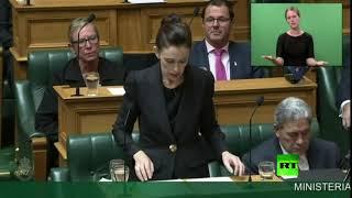فيديو.. رئيس الوزراء النيوزيلندية تفتتح جلسة طارئة للبرلمان بـ«السلام عليكم»