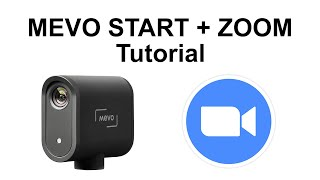 How to use the Mevo Start on Zoom - Tutorial Time!
