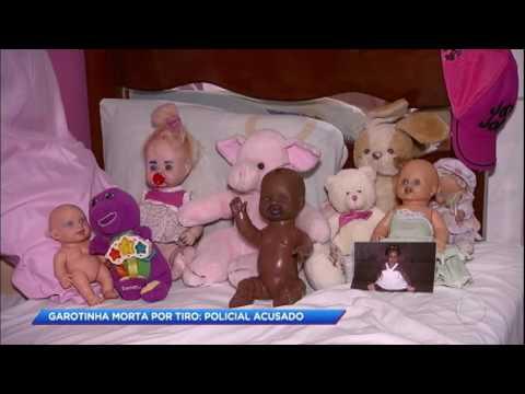 Laudo comprova que menina de seis anos foi assassinada por tiro de PM